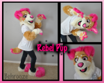 [YES] Rebel Pup Partial by RooSuits