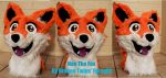 [YES] Fox Head by Drakon Twins' Fursuits