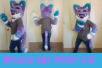 [YES] Meulin Pirate Cat Partial by Velveteen-Soldier
