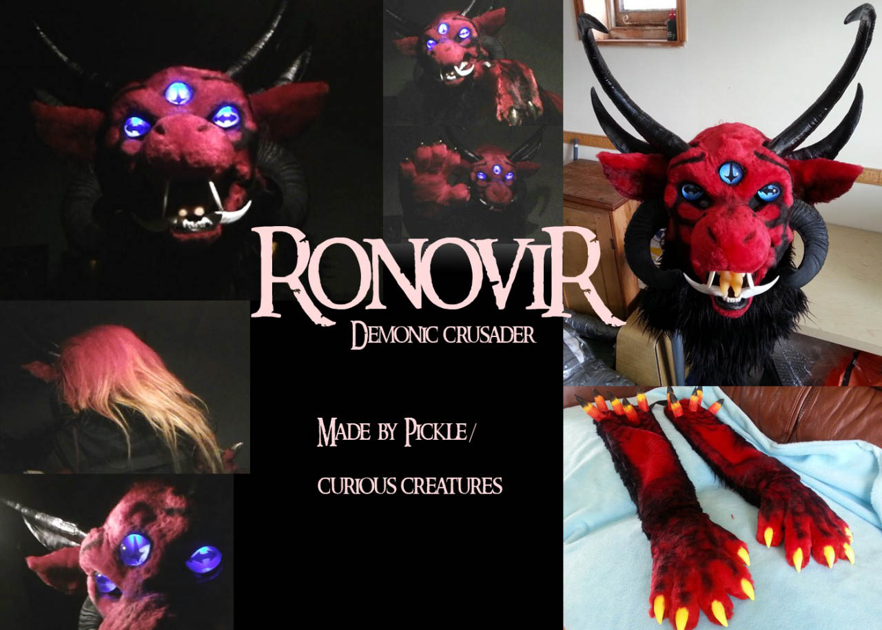 [YES] Ronovir's Head & Handpaws by Curious Creatures