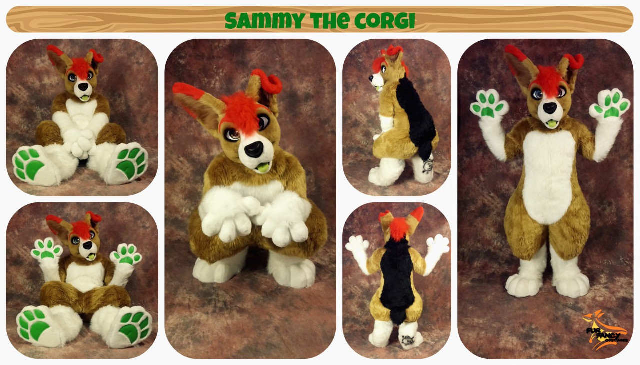 [YES] Sammy Southpaw by FurFancy Costumes