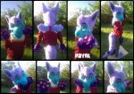 [YES] Royal Faerie Dragon Partial by Fursuit Parade