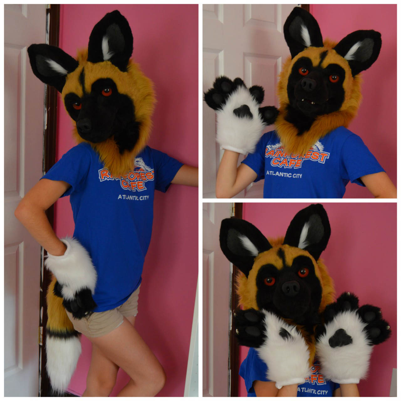 [YES] African Wild Dog Partial by Sarahcat