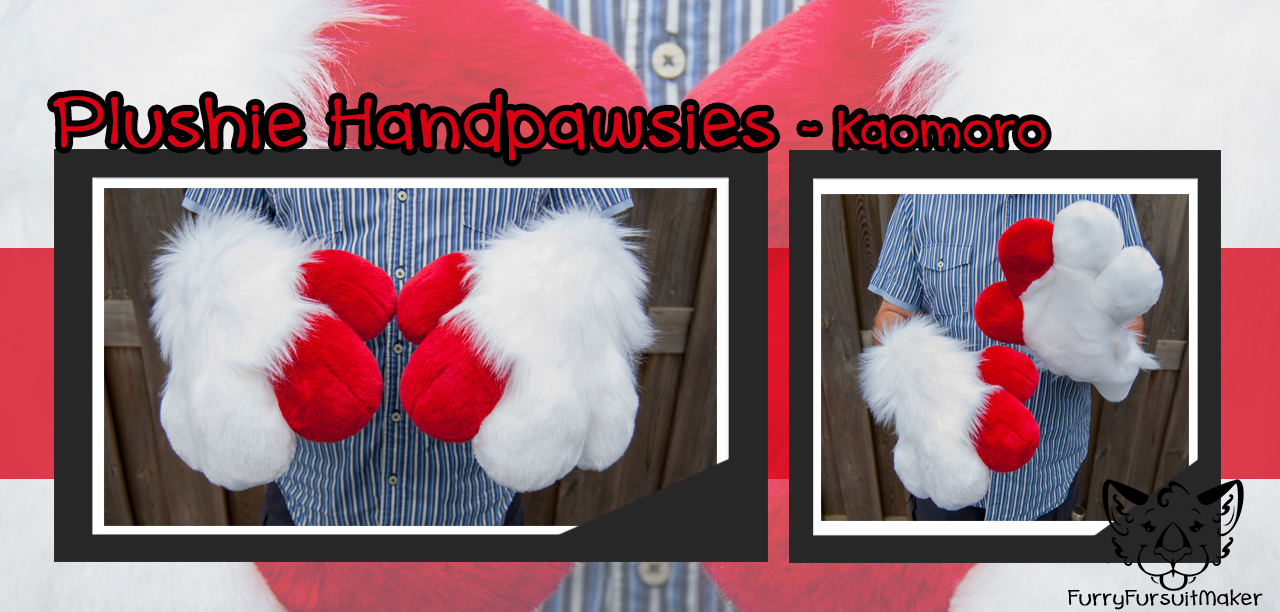 [YES] Kaomoro Indoor Paws by FurryFursuitMaker