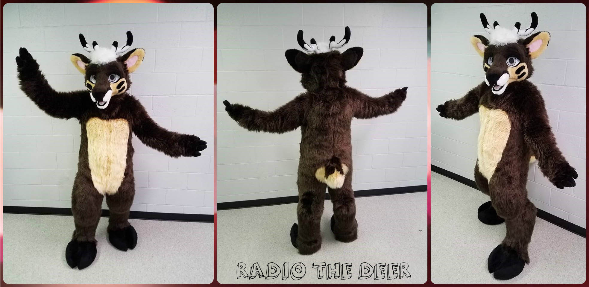 [YES] Radio Deer Fullsuit by Coffee Costumes