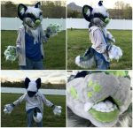 [OK] Mochi Partial by Fursuit Enterprise