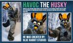 [YES] Havoc Husky Fullsuit by Blue Rabbit Studios