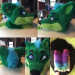 [OK] Emerald Nakita Head by PawthenticCreations