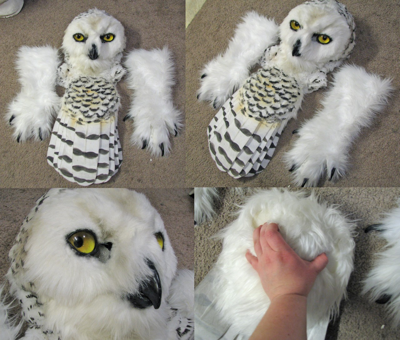 [YES] Snowy Owl Partial by Crystumes