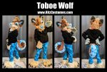 [YES] Toboe Tala the Red Wolf Partial by Ritz Costumes