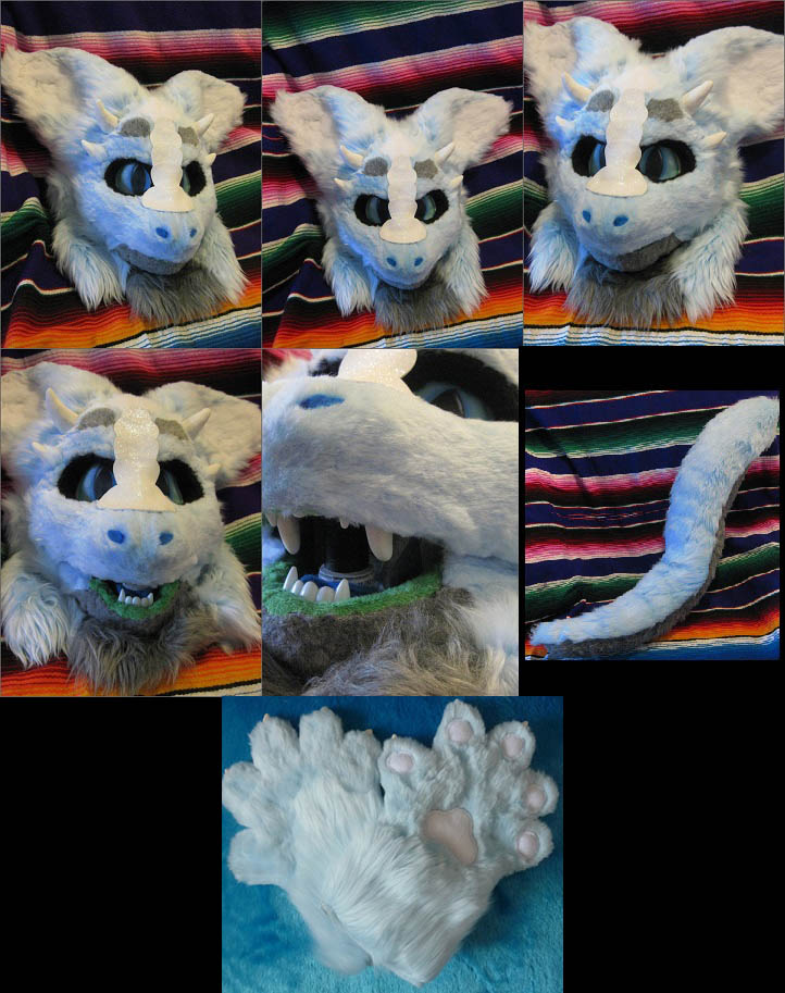 [OK] Blue Dragon Partial by HoneyspydeR