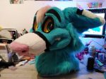[OK] Skai Husky Head by MoreFurLess