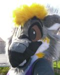 [YES] Emerson Dalhart Gryphon Head by Retro Fursuits