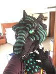 [YES] Caprica the Istarian Frilled Western Dragon Partial by Cawstumes