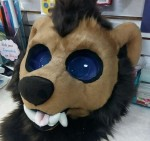 [NO] WereBear Partial by Pyrope Costumes