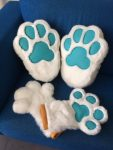 [YES] Griegfox Paws by FurryFursuitMaker