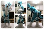[YES] Lucky Arctic Husky Fullsuit by Fuzz Butt Fursuits