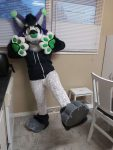 [YES] Hex the Lynx Partial by Ritz Costumes