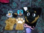 [YES] Haibane the Rottweiler Partial by Beauregard's Buddies Fursuit Workshop