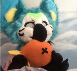 [YES] Skipper the Gryphon Parrot Partial by Matchapawz Creations