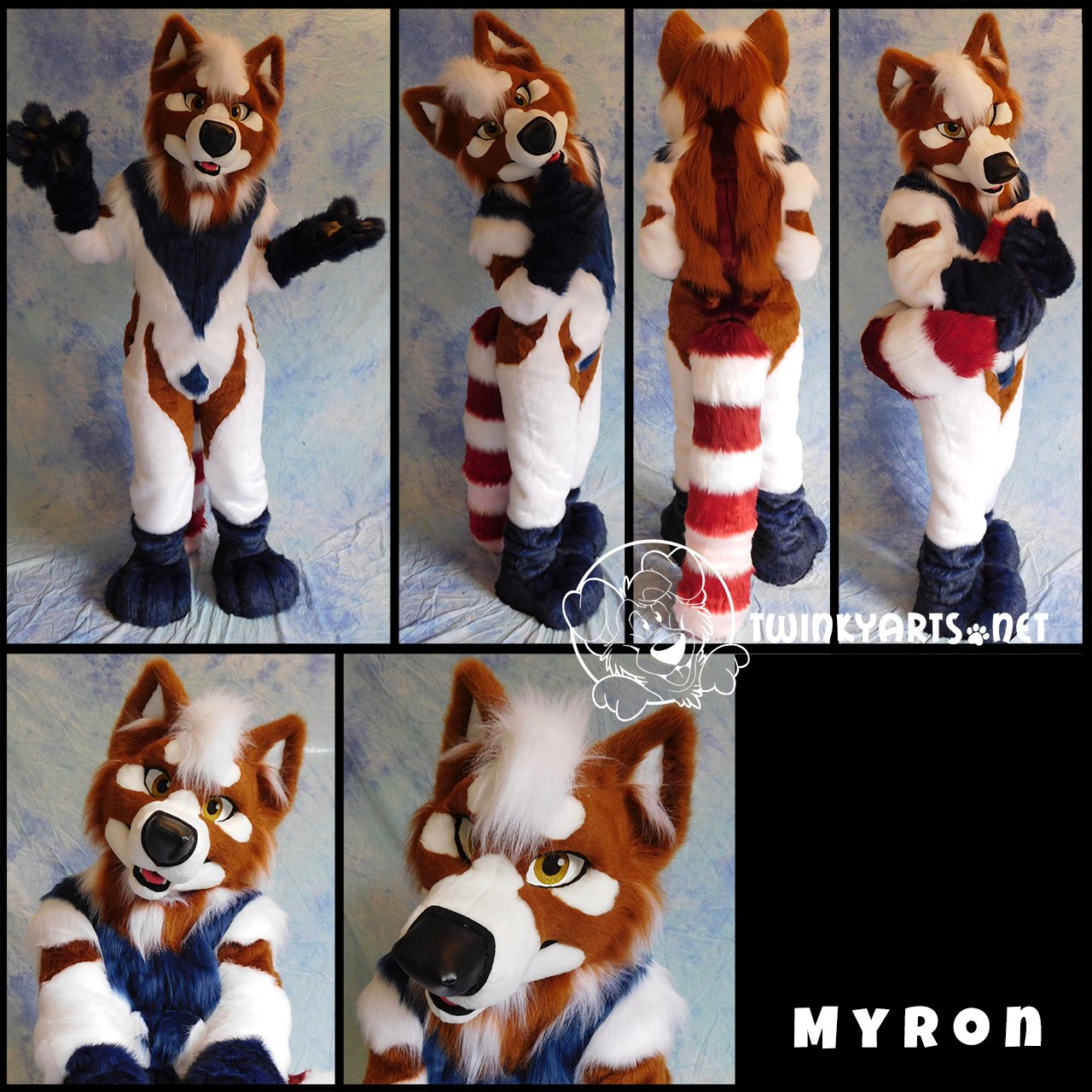 [YES] Myron Red Panda-Samoyed Fullsuit by TwinkyArts