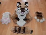 [YES] Shimaï Partial by Ugolek Fursuit Studio
