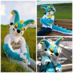 [YES] Large Wilbuh Partial by Lucky Gum Fursuits