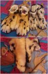 [NO] Shetani Handpaws, Feetpaws, and Leg Sleeves by Brushwolf Creature Studio