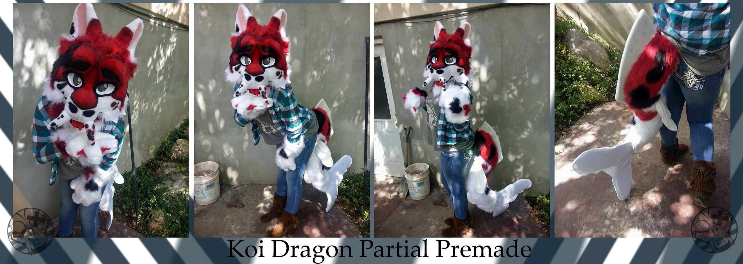 [OK] Koi Dragon Premade Partial by BioPelt