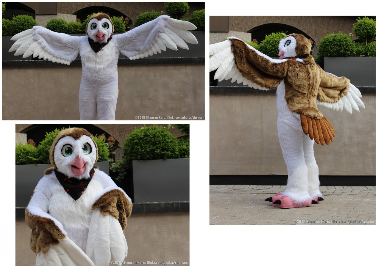 [YES] Owl Fullsuit by Snow Gryphon Suits