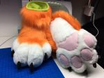 [YES] Tiger Sock Paws by Alpha Dogs