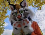 [YES] Chase the Canadian Lynx Partial by Ugolek Fursuit Studio