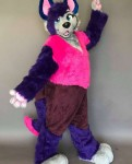 [YES] Purple the Wolf Fullsuit by Fur The Win