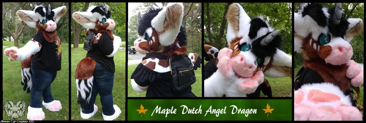 [YES] Maple Dutch Angel Dragon Partial by Monster Cat Creations