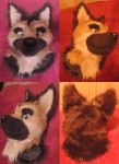 [YES] Dexter German Shepherd Fullsuit by Fuzz Butt Fursuits