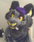 [YES] Malibu Saber Cat Fursuit Head by CrystolCreations