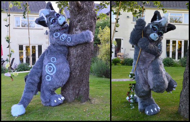 [NO] Ember Digitigrade Fullsuit by Suits by Shark