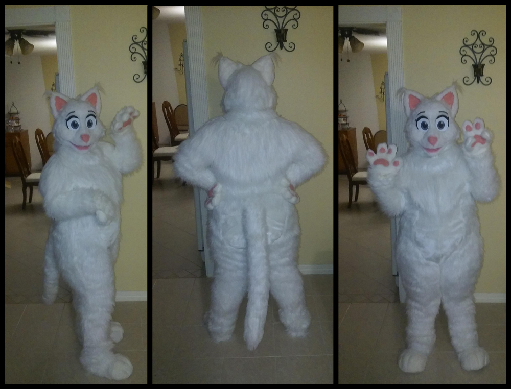 [YES] Magic the White Cat Fullsuit by CantofTogs
