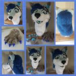[YES] Dusk The Husky Partial by HyenaHoy