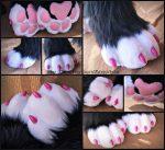 [OK] Aurora Sockpaws by DexterousZombie