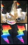 [YES] Storm Lily Legsleeves & Sockpaws by Technicolour Costumes
