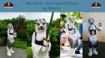 [NO] Hell Charm Snow Leopard 3/4th Suit by FarisBatwan