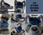 [YES] Nero Maned Wolf Cowl/Helm by Rhee