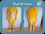 [YES] Shizah the Lombax Bodysuit Refurbishment by Whitewing Creations