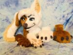 [YES] Fringe the Wolf/Lab Partial by Lizard Love Mustache
