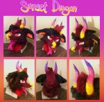 [YES] Sunset the Dragon head by Studio Delights