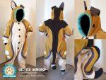 [YES] Flicker Dog Kigu by Critter Workshop