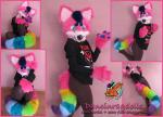 [OK] Evan Raspberry Head & Tail by SueCreations