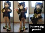 [YES] Pistachio Guinea Pig Partial by Creature Haven