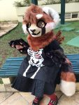 [YES] Red Panda Kemono Partial by Alecrim Carmim